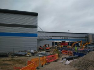 trafford park factory extension