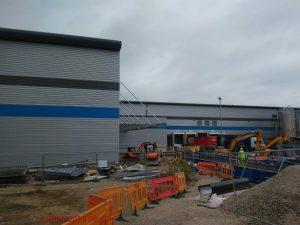 trafford park factory extension